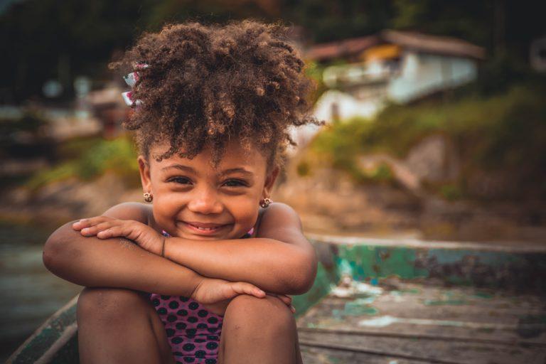 Glückliche Kinderferien