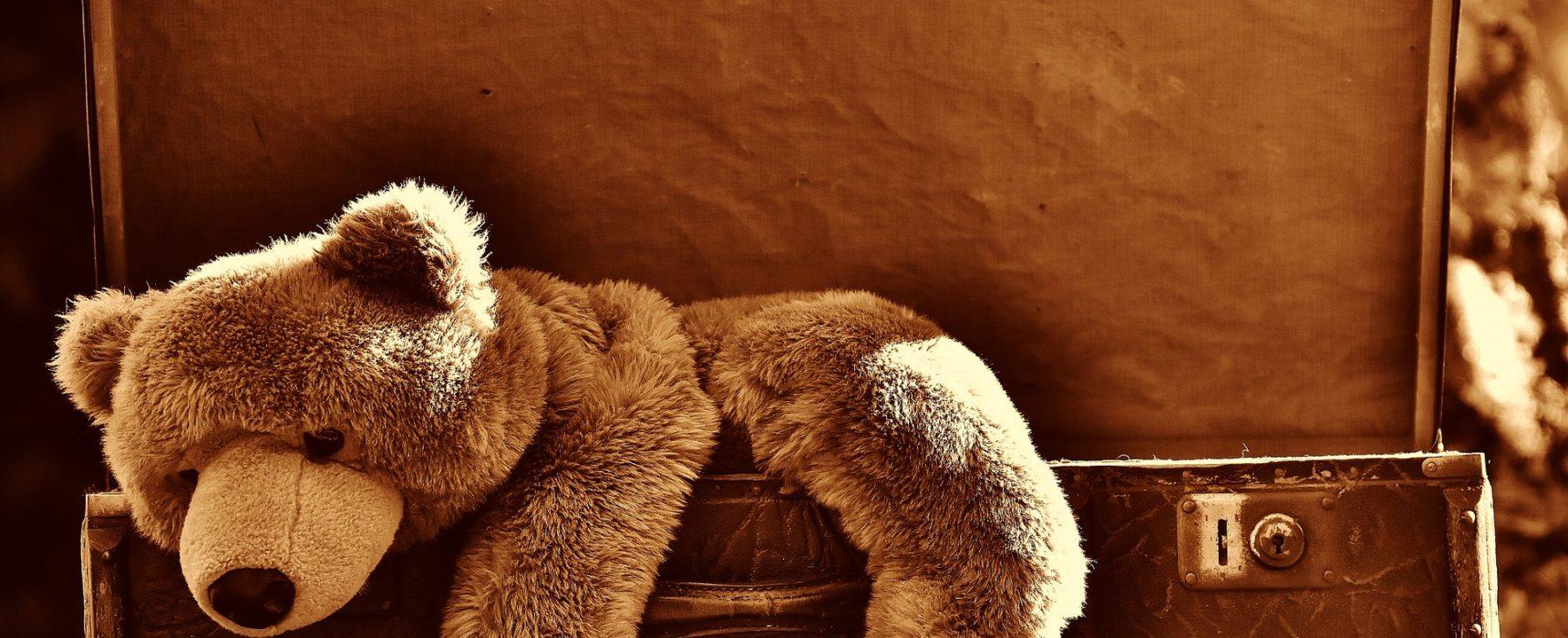 Teddy als Einschlafhilfe