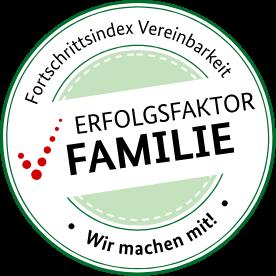 Der Fortschrittsindex ist ein Online-Tool des Bundesfamilienministeriums. Es soll dabei helfen die Vereinbarkeit von Beruf und Familie in den Unternehmen zu verbessern.